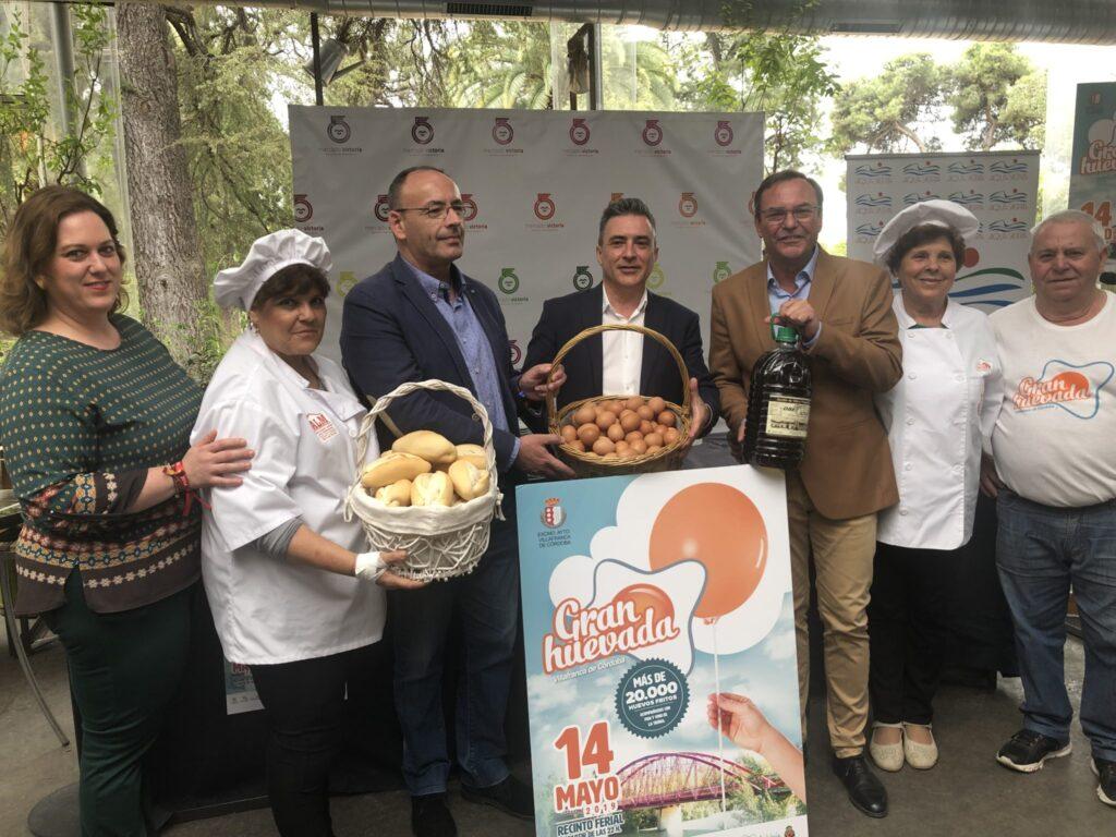"""09-05-2019-Presentación-de-La-Gran-Huevada-1024x768 El Mercado Victoria acoge la presentación de la """"Gran Huevada"""" de Villafranca de Córdoba"""